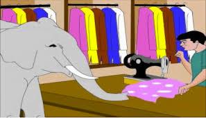 کتاب داستان فیل و خیاط