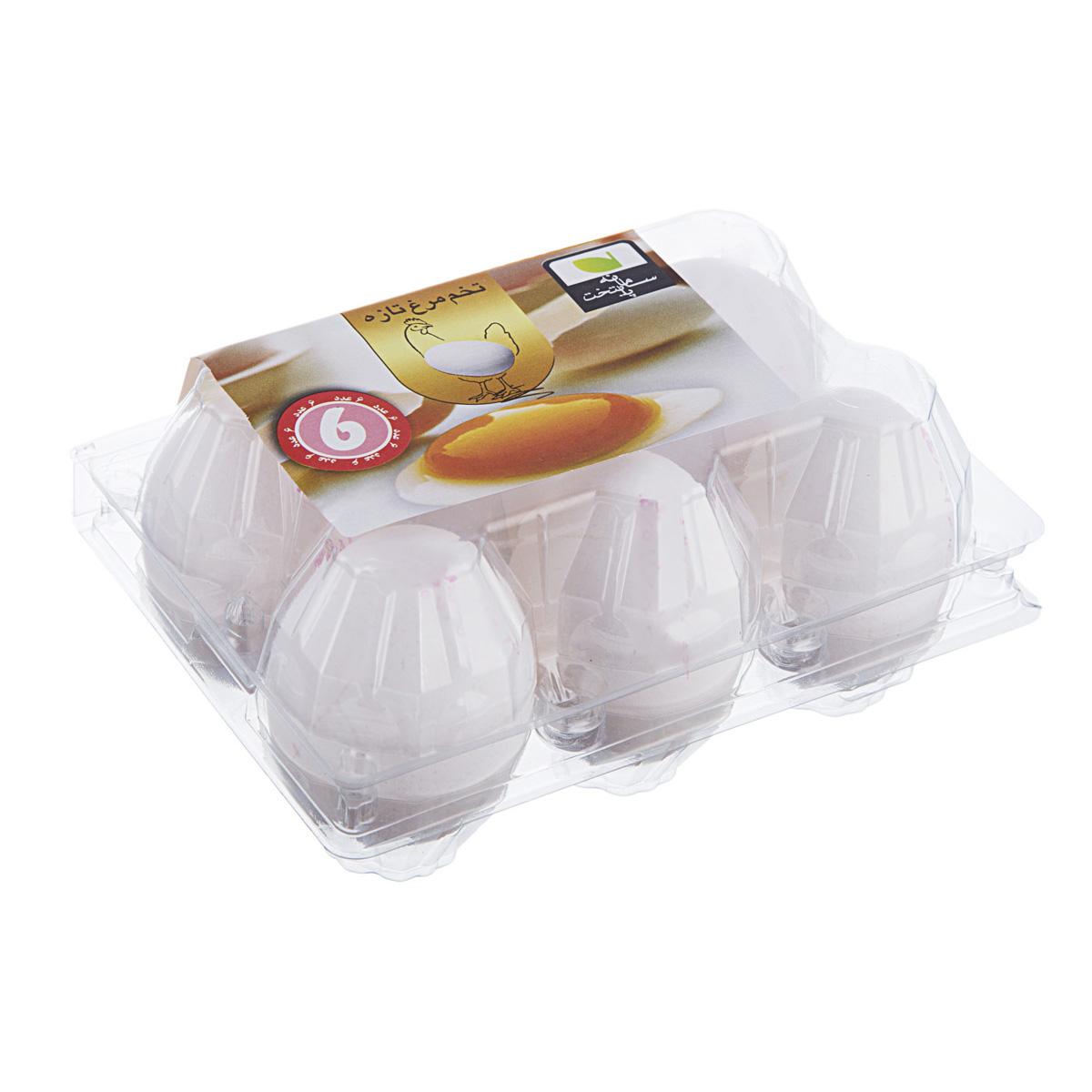 تخم مرغ 6 عددی یگانه