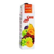 آبمیوه ی 1 لیتری هفت میوه سن ایچ